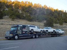 3 Car Wedge Trailer Google Search Hot Shot Trucking
