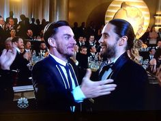 Priceless Jared and Shannon Leto