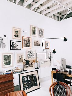 get the look: sourcing vintage-inspired artwork. / sfgirlbybay