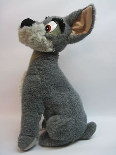 RARE  Lady and The Tramp VINTAGE Disneyland Puppy Dog 19