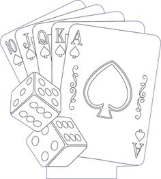 3D illusion cards premium vector drawing