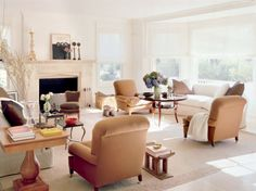 """Vincente Wolf: """"I like curved sofas in square rooms."""""""