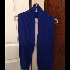 Blue Scarf Blue winter scarf Accessories Scarves & Wraps