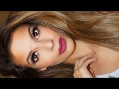 Spring Makeup Tutorial by the beautiful Laura Lee featuring Makeup Geek's Vegas Lights Palette. Makeup Is Life, Makeup Geek, Makeup Tips, Beauty Makeup, Makeup Looks, Hair Makeup, Hair Beauty, Makeup Tutorials, Vegas Lights