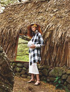 """The Spirit of Aloha"" Natalie Westling for W Magazine June/July 2016"