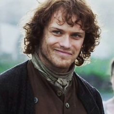 That smile drives me crazy.  #Outlander #OutlanderAddicted #JamieFraser #JAMMF