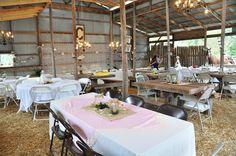 Chelsea's Barn reception