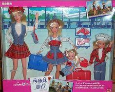 Barbie travelling sisters  1995