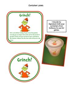 A Grinch Bang Game!