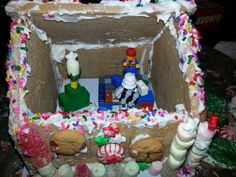 What's a gingerbread house without Legos?