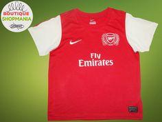 ARSENAL HOME 2011-2012 (Boys 7/8 AGE) NIKE Football Shirt Jersey Maglia Camisa  #Nike #Arsenal