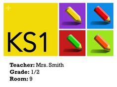 teacher door signs template