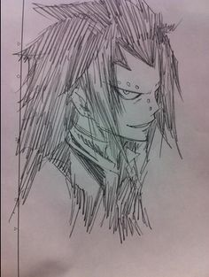 Gajeel Redfox | Fairy Tail- I must say : good drawing