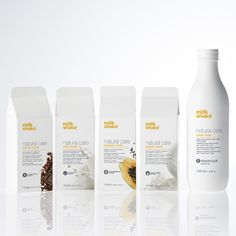 Milk, Yogurt, Cocoa and Papaya: the new amazing NATURAL CARE MASKS by milk_shake for a new delicious treatment for your hair!