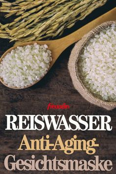 The rice water face mask is said to make you 10 years younger- Die Reiswasser-Gesichtsmaske soll 10 Jahre jünger machen Rice has many healing effects. Especially on the face, it can work wonders as a mask - Diy Beauty, Beauty Skin, Face Beauty, The Face, Facial Care, Diy Skin Care, Hair Health, Facial Masks, Diy Face Mask