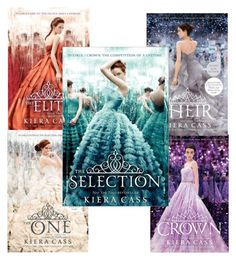 """""""I got the 1st book of the Selection Series!!!"""" by heyhart12 on Polyvore"""