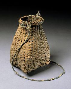 Cherokee fish basket, c. 1900:  wow, like Japanese fish basket