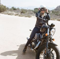 Harley Davidson Biker Girl - Women's Moto Exhibit by Lanakila MacNaughton (Women Who Ride)