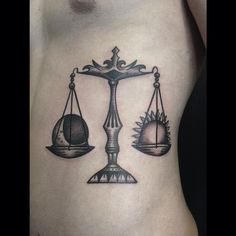 Libra Tattoos | InkDoneRight.com  Libra lasts from September 24 – October 23 and heralds the start of fall. We collected the most beautiful Libra tattoos, and we'll go over different..