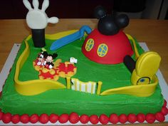 Mickey Mouse Clubhouse Cake 2 Graphics Pictures Images For Myspace