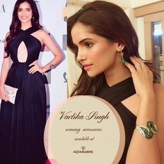 Vartika Singh looks amazing wearing accessories from Aquamarine. Available at all our stores. #aquamarine_jewellery #jewellery #vartikasingh #accessories #love #celebstyle #celebfashion #style #fashion #aquamarinejewellery