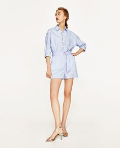 ZARA - WOMAN - JUMPSUIT WITH NAUTICAL RIBBONS