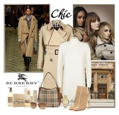 """Burberry"" by dgia ❤ liked on Polyvore featuring Burberry"