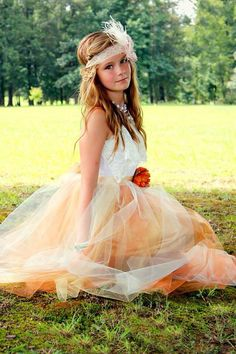 Hey, I found this really awesome Etsy listing at http://www.etsy.com/listing/157719058/junior-bridesmaid-tulle-dress
