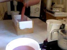 Soap Making - Making Pink Sugar  Dreams Soap