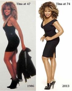 Ageless And Sexy Pix: Tina Turner @ 75 Got It All! Black Girls Rock, Black Girl Magic, Fit Black Women, My Black Is Beautiful, Beautiful People, Musa Fitness, Vintage Black Glamour, Actrices Hollywood, Ageless Beauty