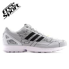 adidas zx flux weave nere