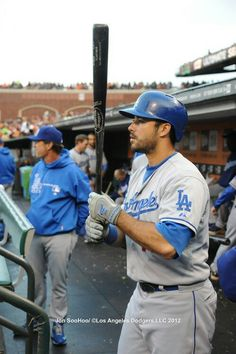 Andre Ethier #16 Dodgers Baseball, Baseball Players, Baseball Cards, Andre Ethier, Dodger Blue, Go Big Blue, Los Angeles Dodgers, Cute Guys, He's Beautiful