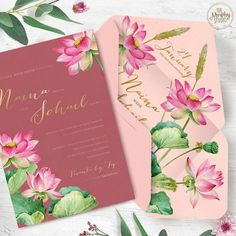 Traditional With A Twist. A bright floral wedding invitation with marigold flowers on the borders in neon shades. Make Your Own Wedding Invitations, Wedding Invitation Trends, Indian Wedding Invitations, Rustic Invitations, Wedding Invitation Wording, Invites, Invitation Card Design, Floral Invitation, Invitation Ideas