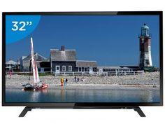 """TV LED 32"""" Toshiba 32L1500 - Conversor Digital 2 HDMI 1 USB Tvs, Smart Tv, Tv Led 32, Magazine, Jesus Cristo, Link, Saints, Electronic Devices, Shopping"""