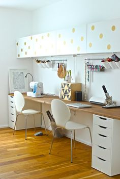Super Home Office Layout Corner Desk Ideas Home Office Layouts, Home Office Design, Home Office Decor, Office Desk, Office Setup, Diy Casa, Home Office Furniture, Furniture Ideas, Balcony Furniture