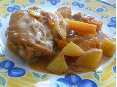 POLLO A LA CASSEROLE preparado por Susana Garcia Rayas para Cocina Gourmet IV