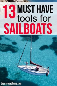 There are several items I can't live without on the sailboat. See my top essentials for sailing on a liveaboard boat. Liveaboard Sailboat, Liveaboard Boats, Sailboat Living, Living On A Boat, Sailboat Restoration, Sailing Charters, Sailing Trips, Ocean Sailing, Boats