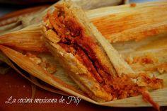 Tamales rojos y verdes ¡Ya me salen los tamales! | La Cocina Mexicana de Pily