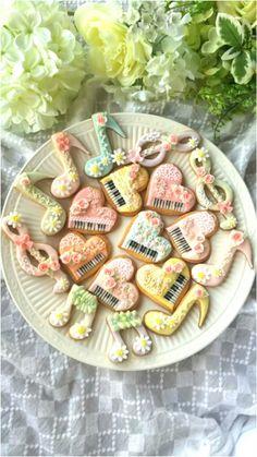 「【アイシング2017】ピアノのアイシングクッキー」えびちゃん♪ | お菓子・パンのレシピや作り方【corecle*コレクル】