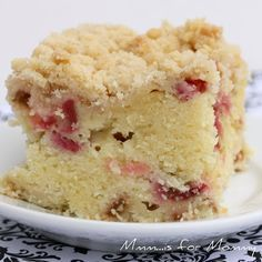 I will need a bunch of rhubarb recipes soon.is for Mommy: Rhubarb Buttermilk Cake. Hmmm, it's snowing but this recipe is making me want some rhubarb. Rhubarb Desserts, Rhubarb Cake, Just Desserts, Delicious Desserts, Rhubarb Muffins, Healthy Rhubarb Recipes, Rhubarb Butter, Rhubarb Cookies, Strawberry Rhubarb Recipes