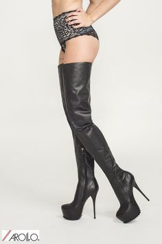 Coming up soon...... AROLLO Thigh High Crotch Boots ANNA2 Special Edition www.overknee-stiefel.net #highheelbootsthigh