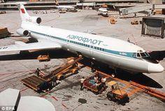 Aeroflot Tupolev Tu15; at Frankfurt