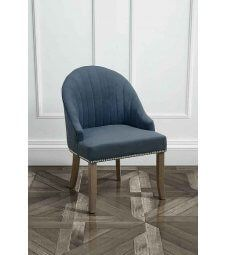 Kariss Wedgewood Upholstered Occasional Chair