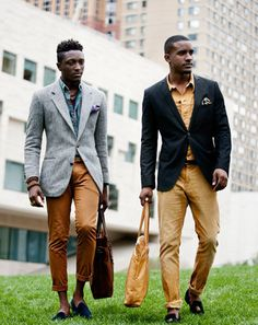 Travis Gumbs and Joshua Kissi of Street Etiquette