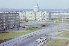 Ulica Łanowa lata 70-te