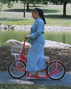 Trottinette Amish