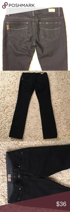 """Paige Straightleg Jeans Excellent condition Paige """"Blue Heights"""" style straightleg jeans.  Petite sizing with 29"""" inseam.  Smoke free, pet free home Paige Jeans Jeans Straight Leg"""