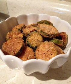 baked zuccini chips- best snack eveeeer