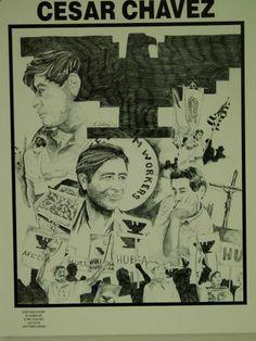 Art by Ramiro Ordonez Pencil drawing   Title:  Chavez