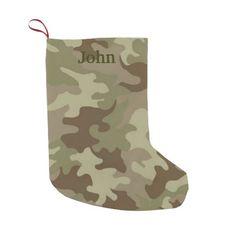 Personalized Camouflage Christmas Stocking Small Christmas Stocking http://www.zazzle.com/personalized_camouflage_christmas_stocking_manualwwstocking-256128787490290767?rf=238271513374472230  #christmas  #christmasstockings  #stockings